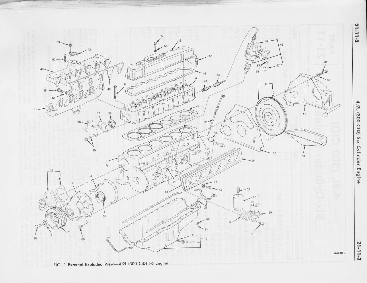 1978 ford shop manual vol 2 - group 21 - gasoline engines