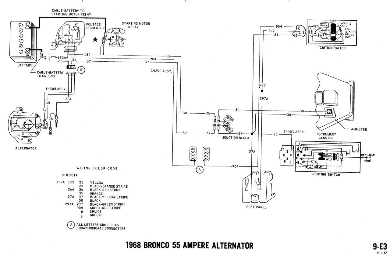 1968 bronco wiring diagrams