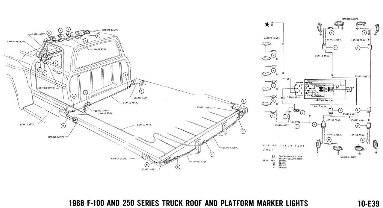 1968 wiring diagrams - ford truck fanatics ford l8000 truck wiring diagrams 1968 ford f700 truck wiring diagrams