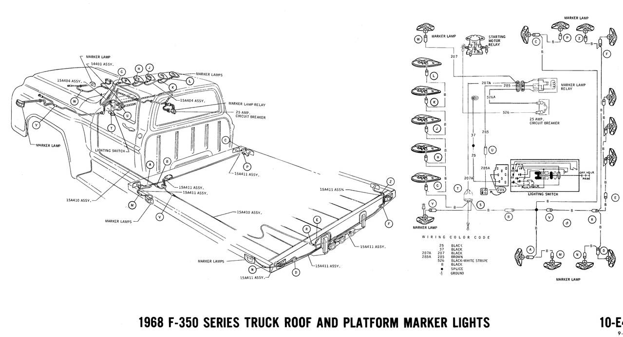 1968 Ford Pickup Wiring Diagram Diagrams 1966 Truck Fanatics Electrical 1995