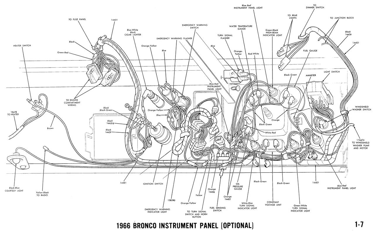 1966 bronco wiring diagrams