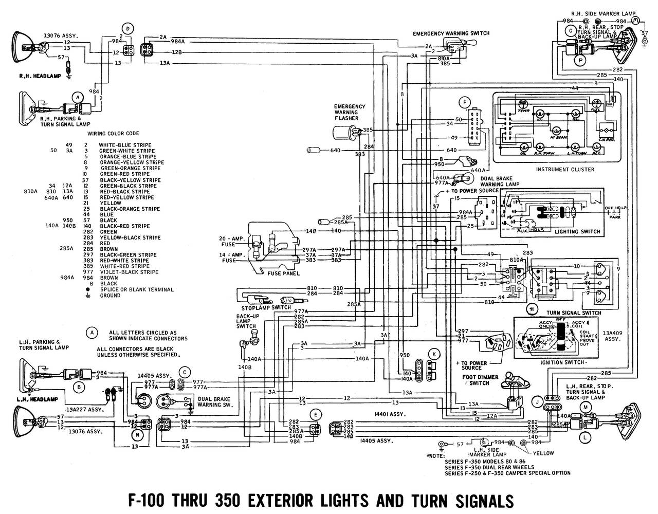 1971 Ford Ln600 Wiring Diagram Auto Electrical Trailmaster Diagrams Xrx150